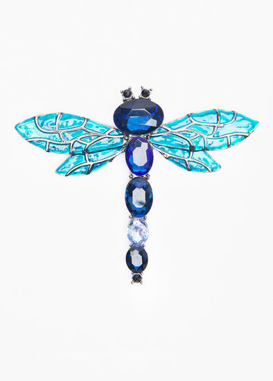 Gem Dragonfly Brooch