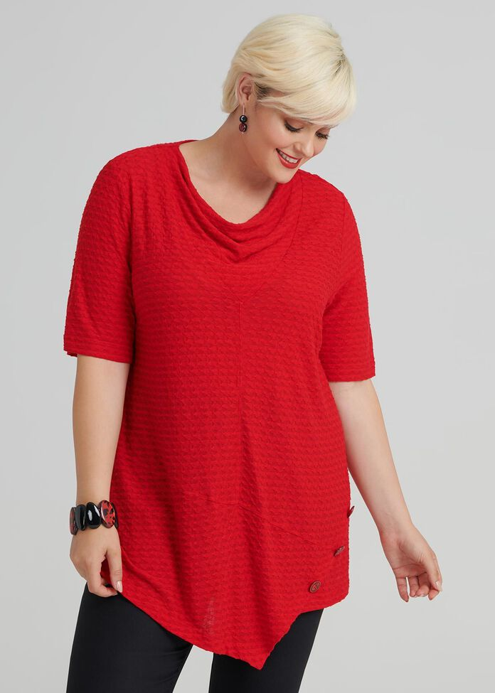 Carnaby Short Sleeve Top, , hi-res