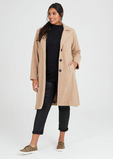 Teddy Boucle Coat