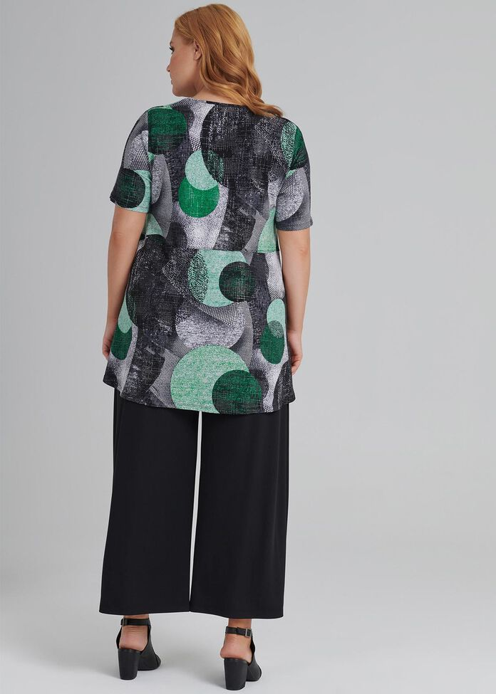 Pattern Player S/s Top, , hi-res