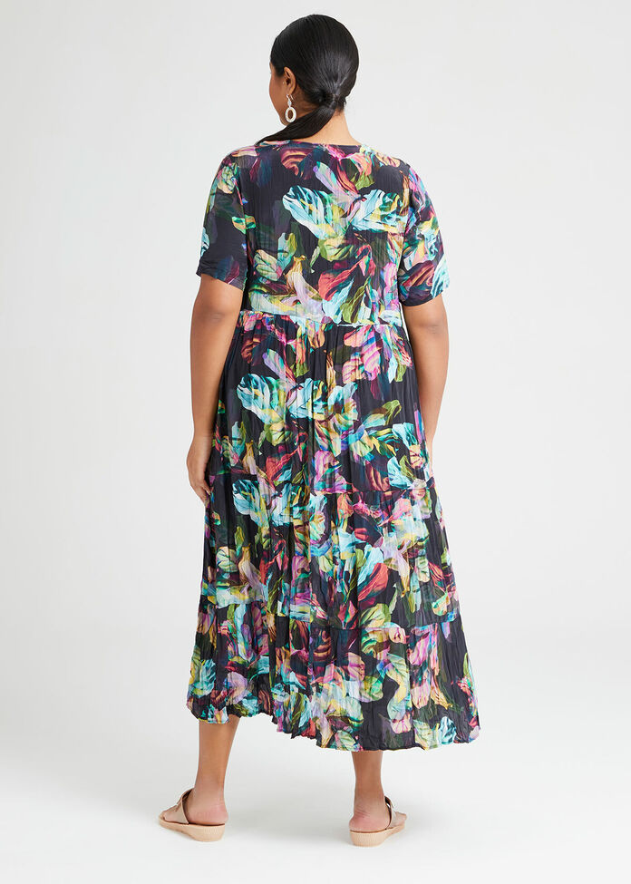 Natural On Show Tier Dress, , hi-res
