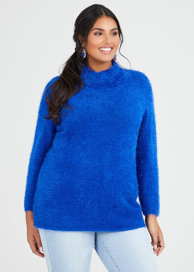 Eyelash Cosy Knit Jumper