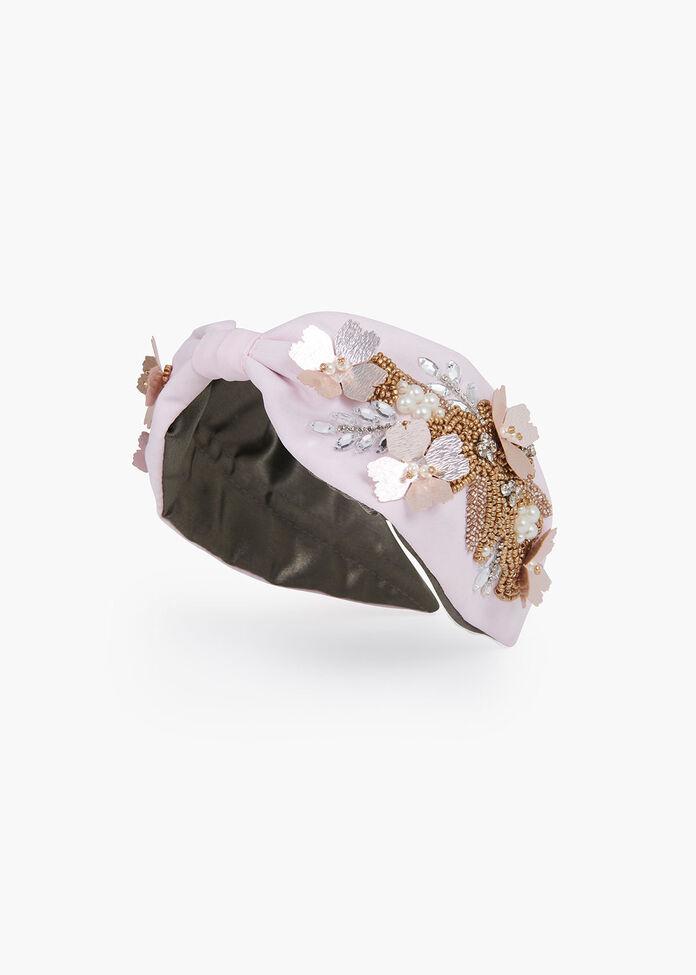 Blushing Petals Headband, , hi-res