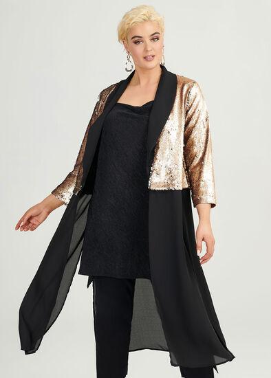 Sequins Glitter Jacket