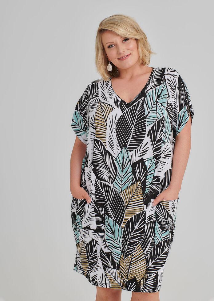 Petite Jungle Luxe Dress, , hi-res