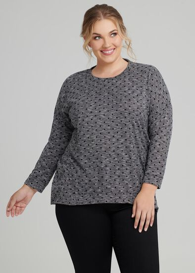 Winter Spot Top