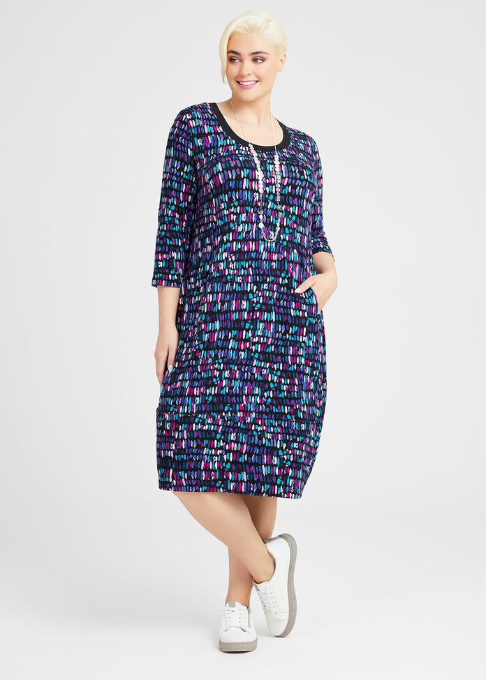Bamboo Kaleidoscope Dress, , hi-res