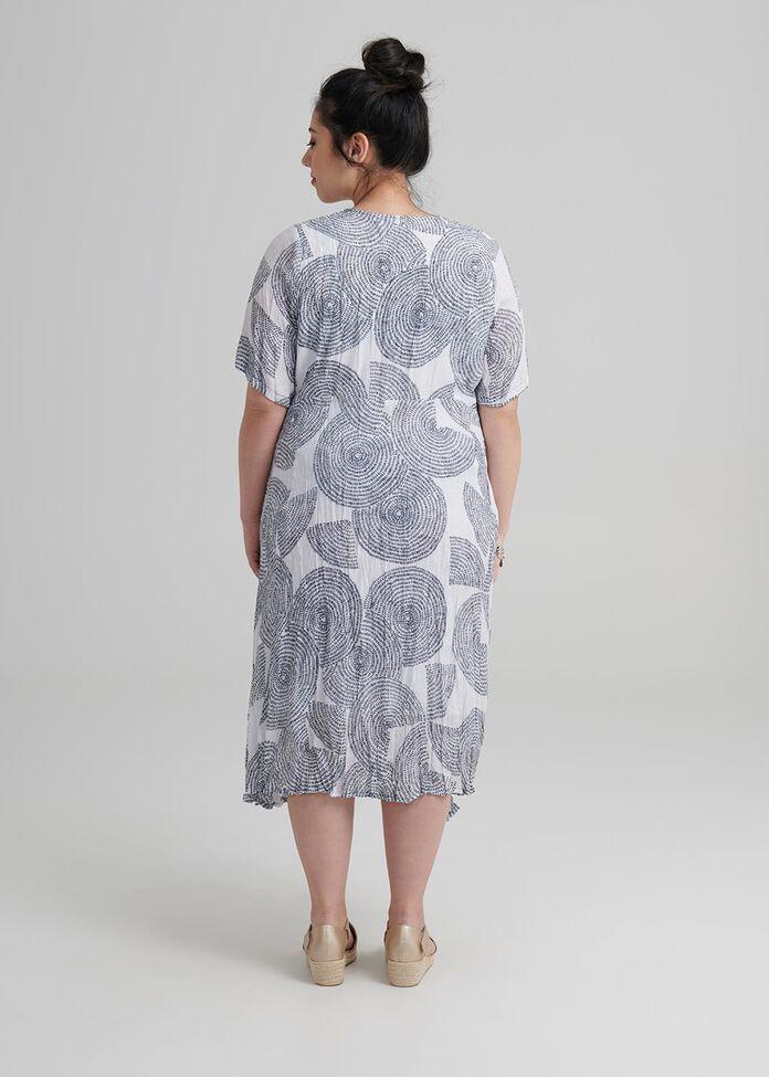 Petite Circles Dress, , hi-res