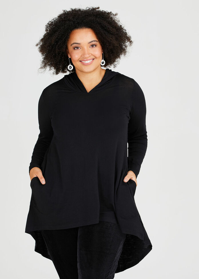 Bamboo Merino Time Out Top, , hi-res