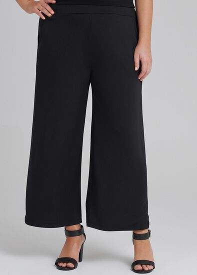 Back To Black Crop Pant