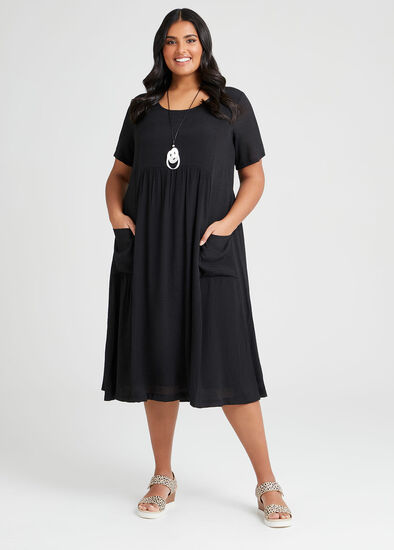 Natural Romance Pocket Dress