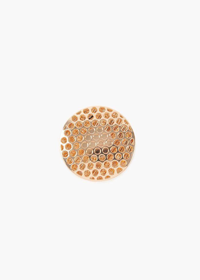 Glimmer Disc Brooch, , hi-res