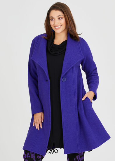 Morgan Boiled Wool Coat