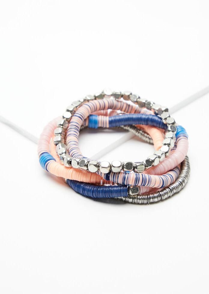 Sequin Beaded Bracelets, , hi-res