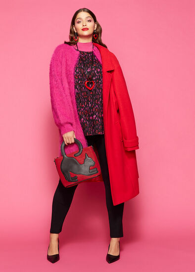 Winter Brights Outfit