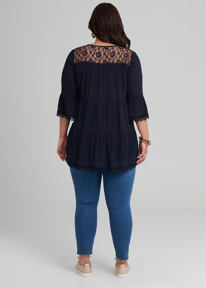 Sea Lace Blouse, , hi-res