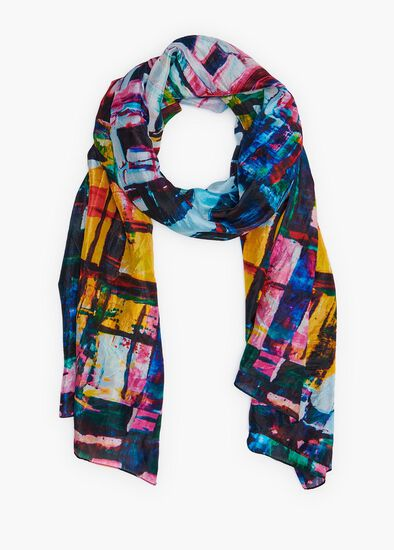 City Lights Silk Scarf