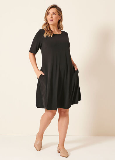 Day To Night Short Sleeve Dress