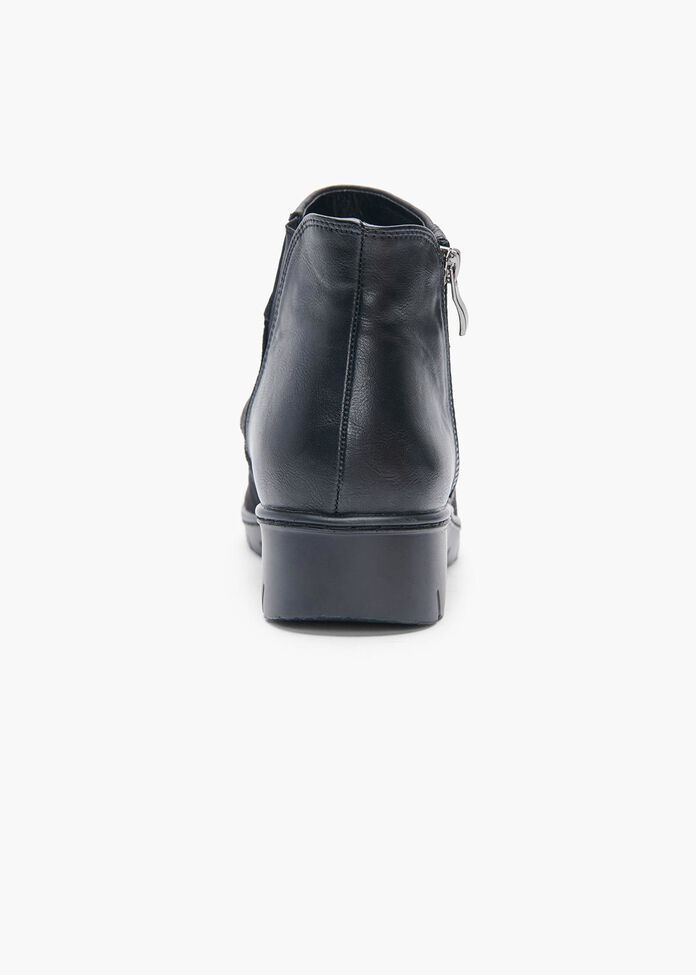 Ruby Ruched Ankle Boot, , hi-res