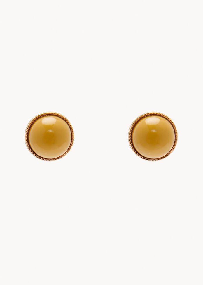 Mantra Stud Earrings, , hi-res