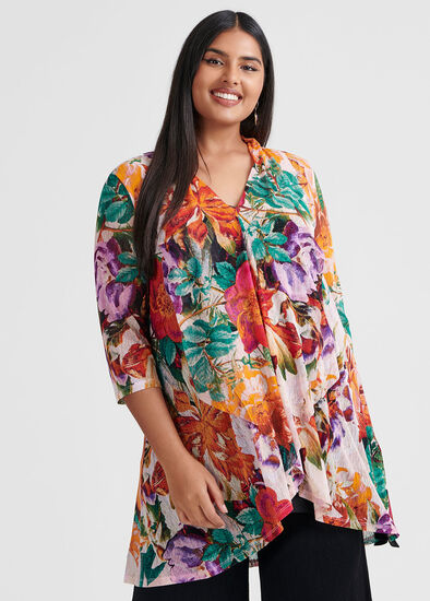 Floral Tales Tunic