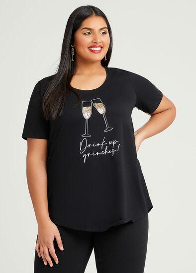 Organic Celebrate Xmas T-shirt