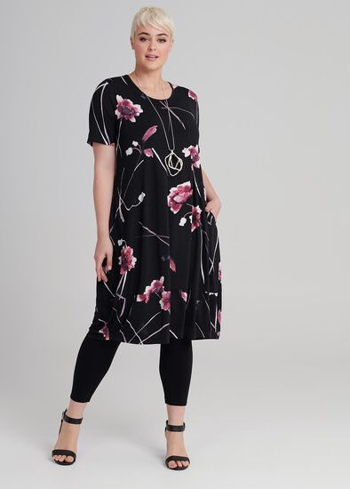 Rosado Drape Dress