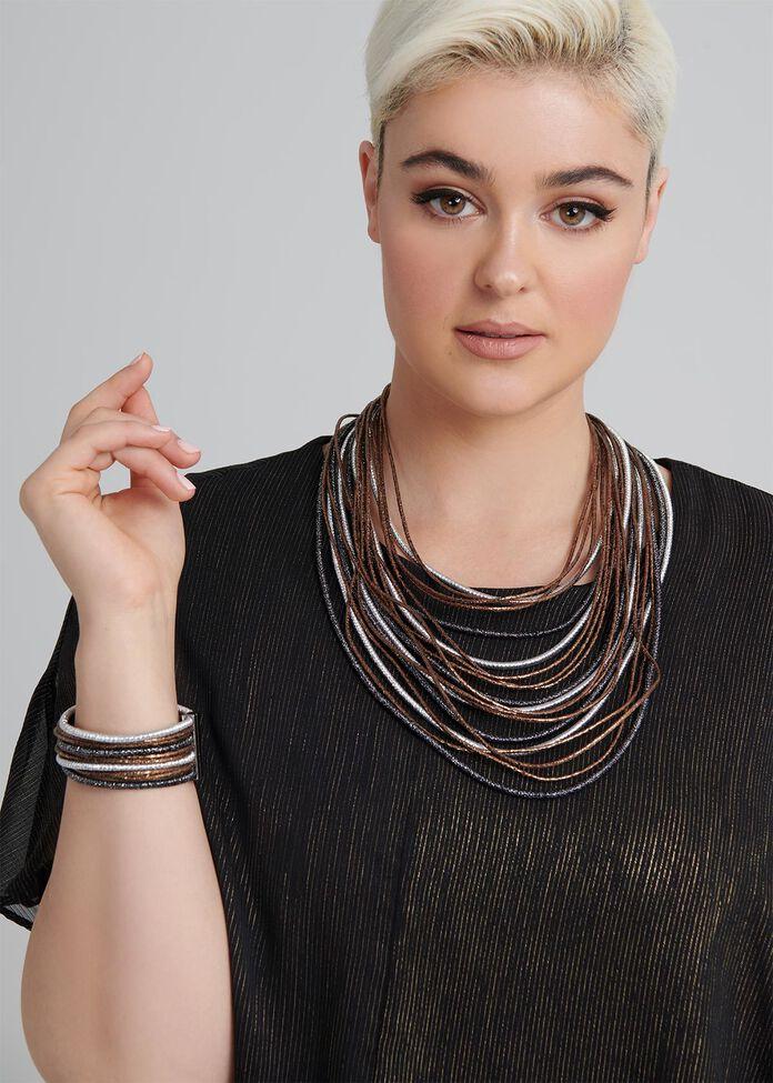Bronze Glow Necklace, , hi-res
