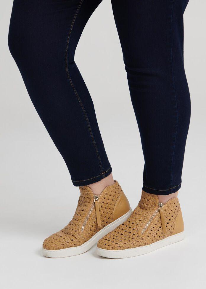 Luna Leather Sneaker Boot, , hi-res