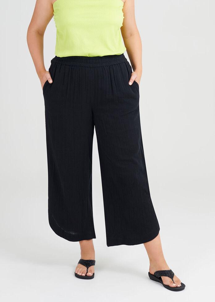 Cotton Moonlight Pants, , hi-res