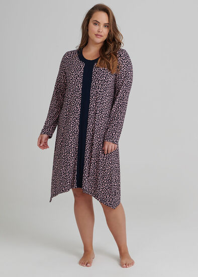 Leopard Bamboo Nightie