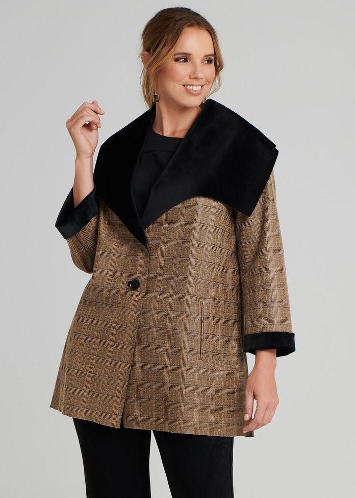 Double Faced Coat, , hi-res