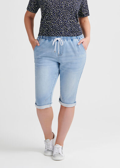 The Easy Fit Crop Jogger