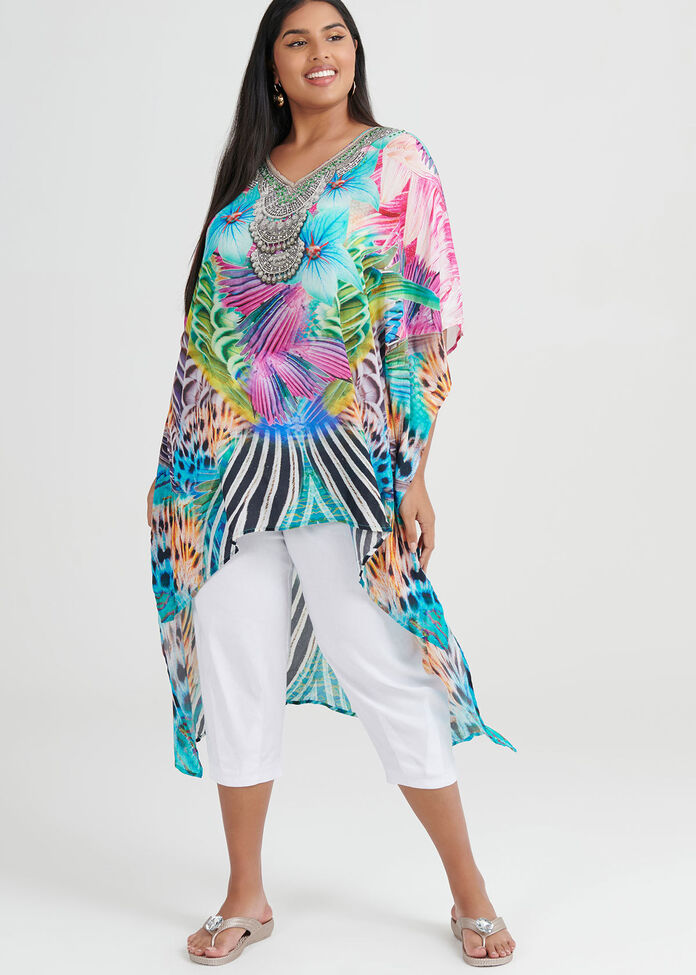 Club Aqua Viscose Tunic, , hi-res
