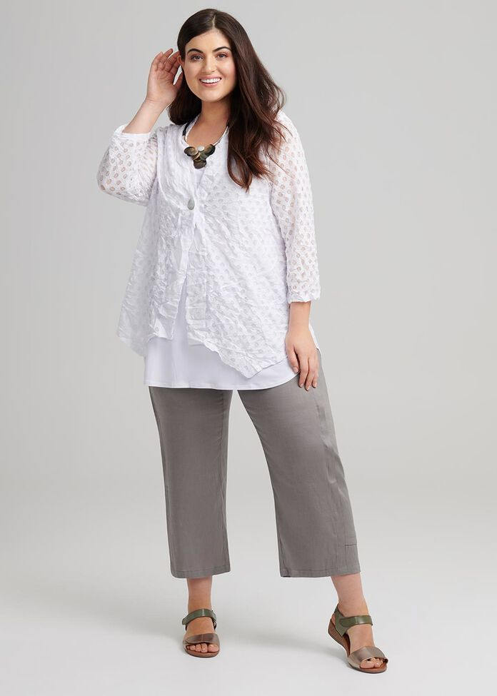 Mesh Day To Day Cardi, , hi-res