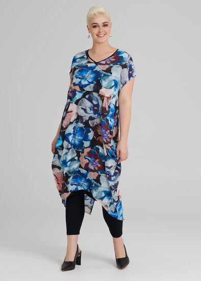 Jardin Print Dress