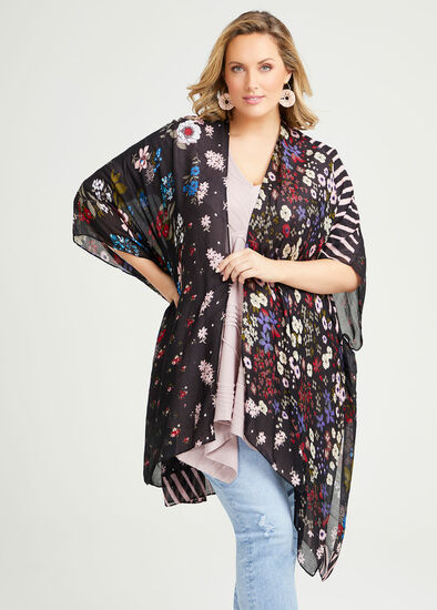 Ditsy Floral Cape