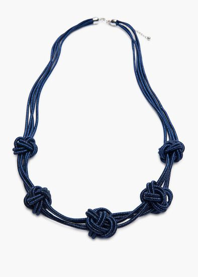 Stop Knot Necklace