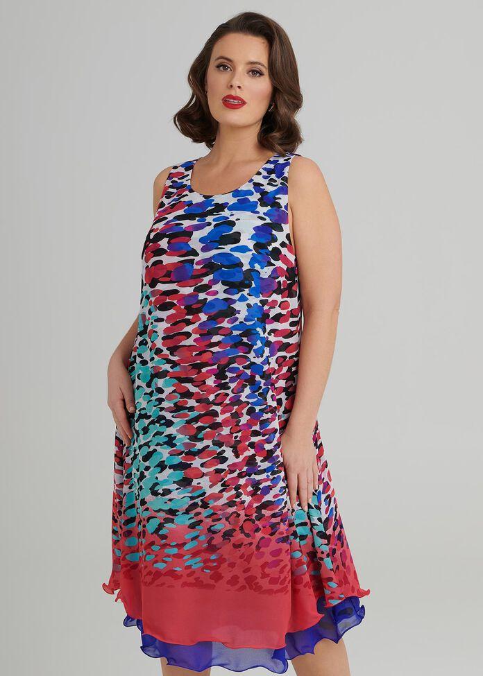 Monet Cocktail Dress, , hi-res