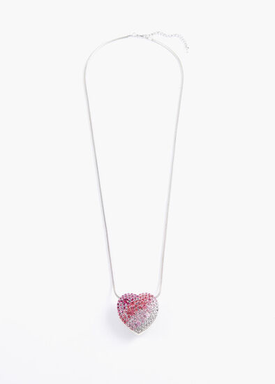 Graduated Heart Necklace