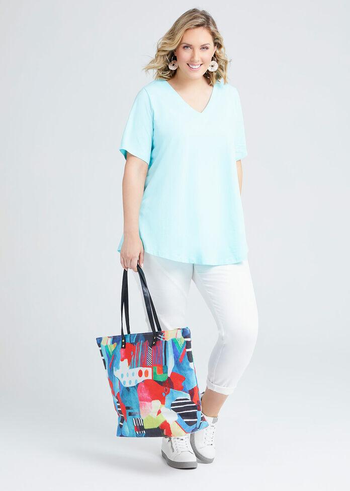 Abstract Tote Bag, , hi-res