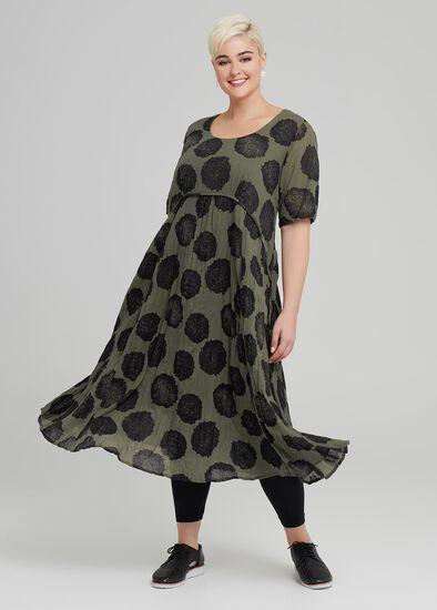 Autumn Spot Dress