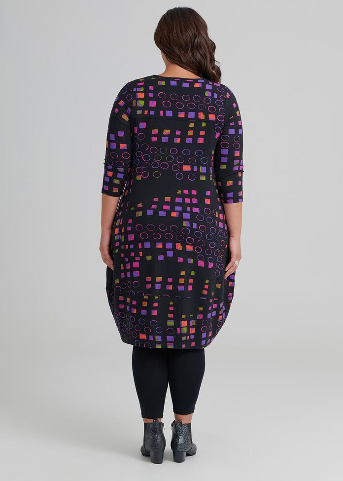 Quatro 3/4 Sleeve Dress, , hi-res