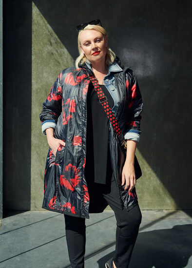 Poppy Puffer Jacket Outfit