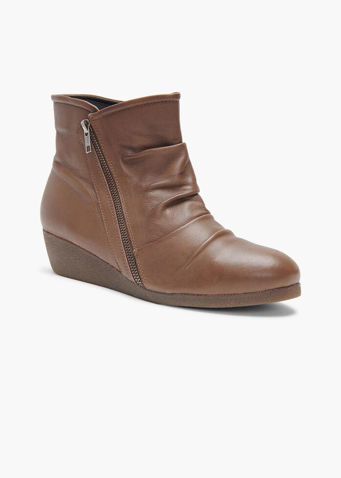 Jordan Ruched Ankle Boot, , hi-res