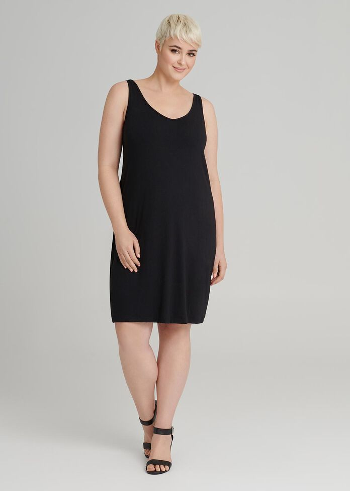 Bamboo Two Way Slip Dress, , hi-res