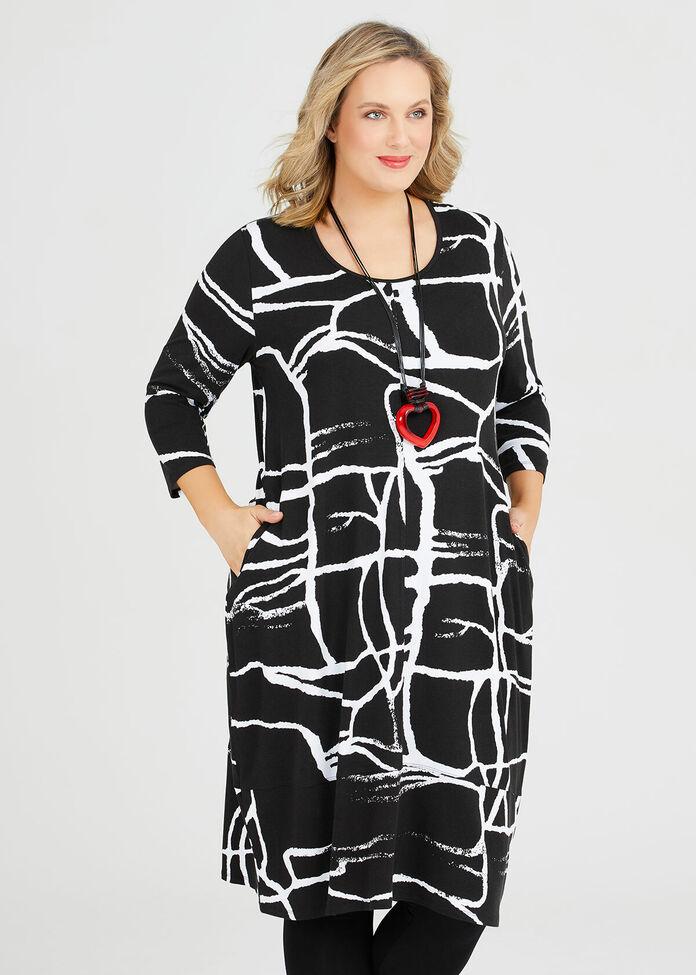 Baton Rouge Natural Dress, , hi-res