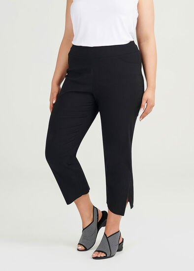 Timeless Cotton Crop Pant