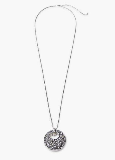 Lunar Crystal Necklace