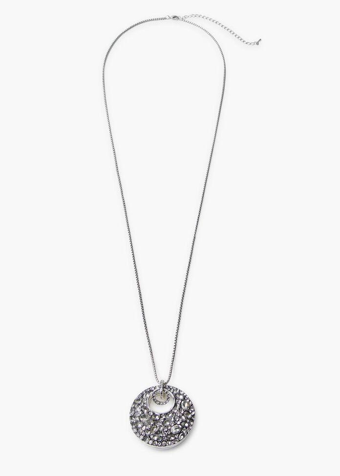 Lunar Crystal Necklace, , hi-res